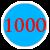 1000 =1 000 грн