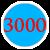 3000 =3 000 грн