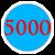 5000 =5 000 грн