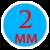 Толщина 2мм =240 грн