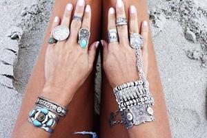 Фото Браслеты и кольца Бохо-Шик