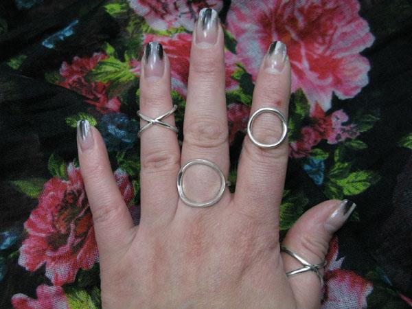 Фото Необычные кольца 20017